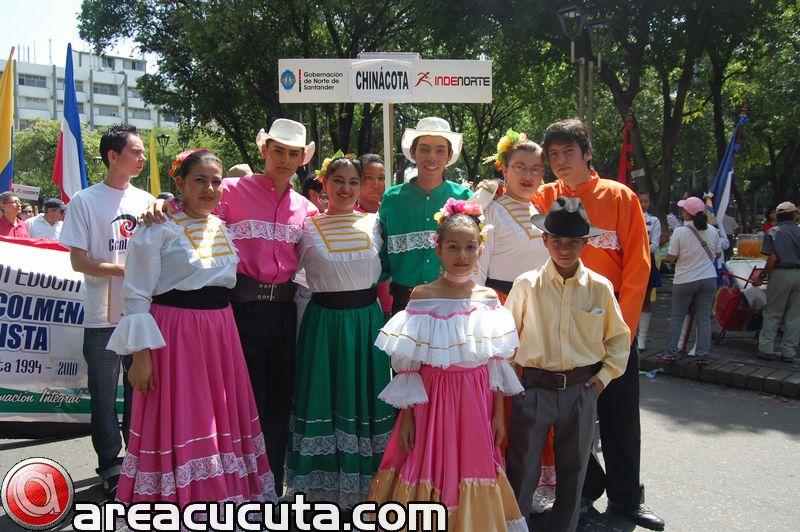 Desfile Conmemorativo por el Centenario de Norte De Santander