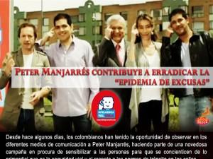 "Peter Manjarrés Contribuye A Erradicar La ""Epidemia De Excusas"""