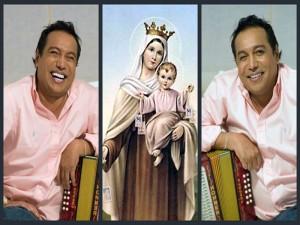 Diomedes Díaz, Bendecido Por La Virgen Del Carmen