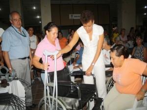 Alegría Para Más De 2 Centenares De Discapacitados
