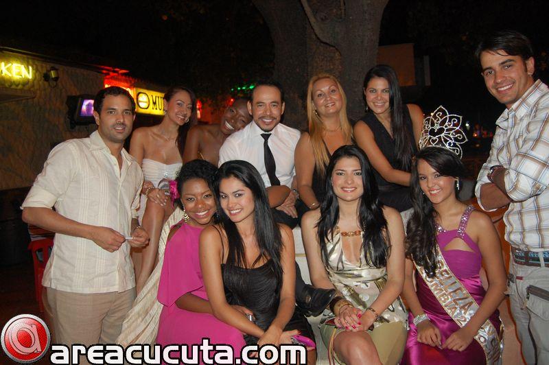 Cena de las Candidatas de Mis Belleza Juvenil Colombia.