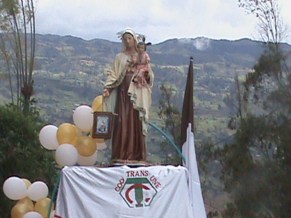 Con Caravana, Transportadores En Cúcuta Celebran El Día De La Virgen