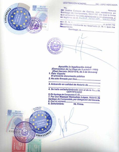 Gobernación Apostillará Documentos Notariales