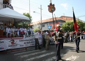 Delegaciones de Municipio Celebrarón Centenario en Cúcuta