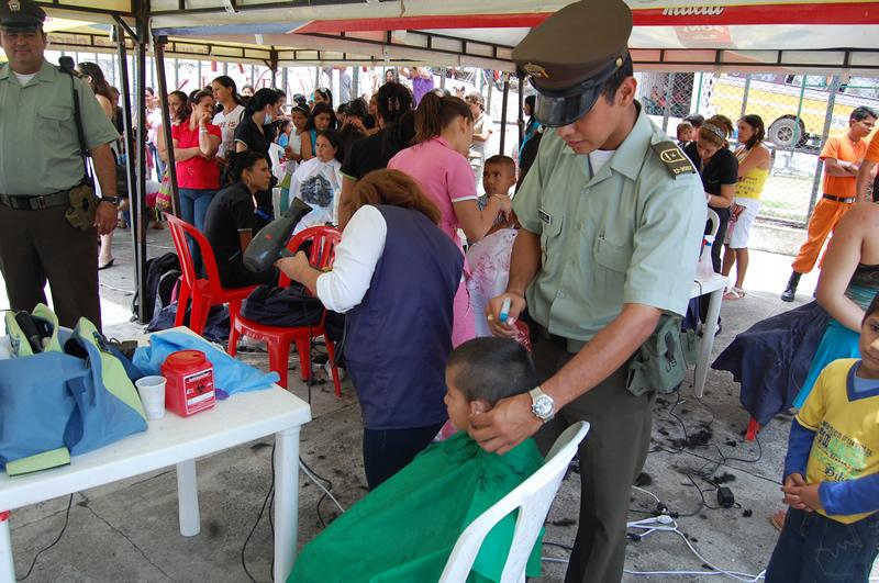 Policía Nacional Adelantó Brigada De Salud Y Recreación En El Municipio De Lourdes.