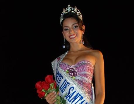 Dayana Zamar Delgado, recibió la Corona de Señorita Norte de Santander