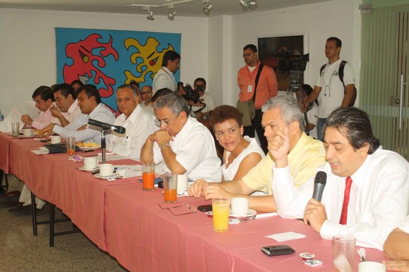Se Realizo Primera Seción Del Bloque Publico Privado De Cúcuta