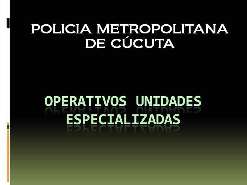 Casos Operativos Relevantes -170810 Unidades Especializadas Mecuc