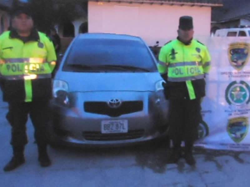Policía Nacional Logra La Recuperación De Dos Vehículos