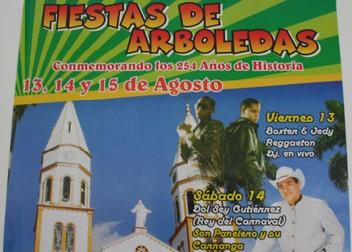 Arboledas Conmemorando 254 Años De Historia