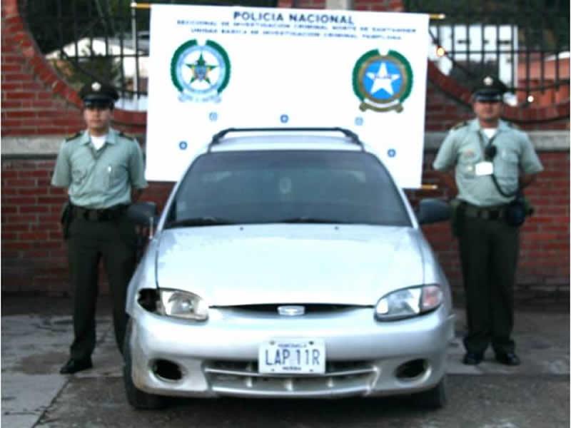 Policía Nacional Recupera Tres Vehículos En Diferentes Operativos