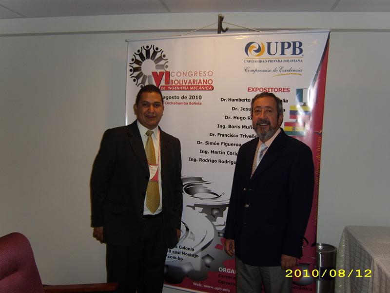 Docentes Presentaron Ponencia En Bolivia