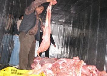 Decomisan 150 Kilos De Carne De Contrabando