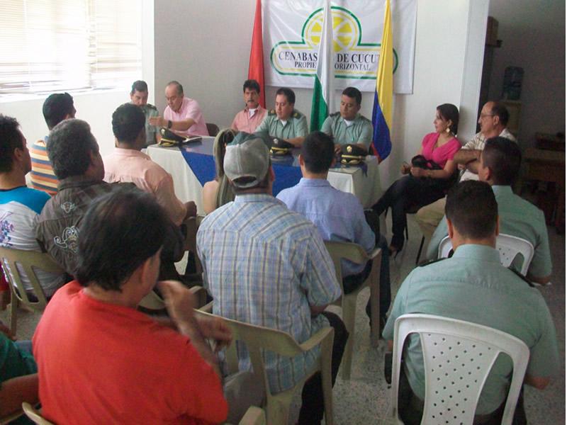La Policía Nacional Fortalece La Cooperación Ciudadana En Cúcuta