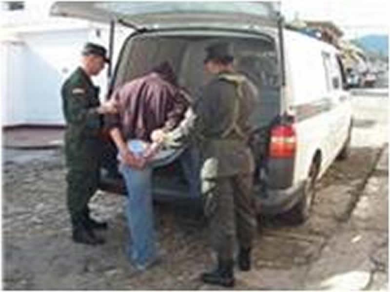 Policía Nacional Captura Un Hombre En Chinácota Por El Delito De Porte Ilegal De Armas