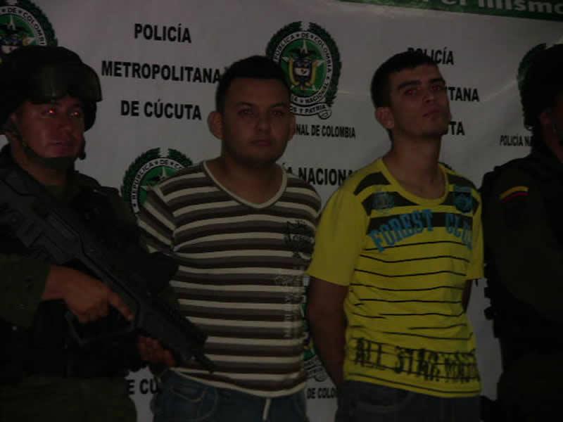 La Policía Nacional Asestó Un Nuevo Golpe A La Criminalidad En Cúcuta