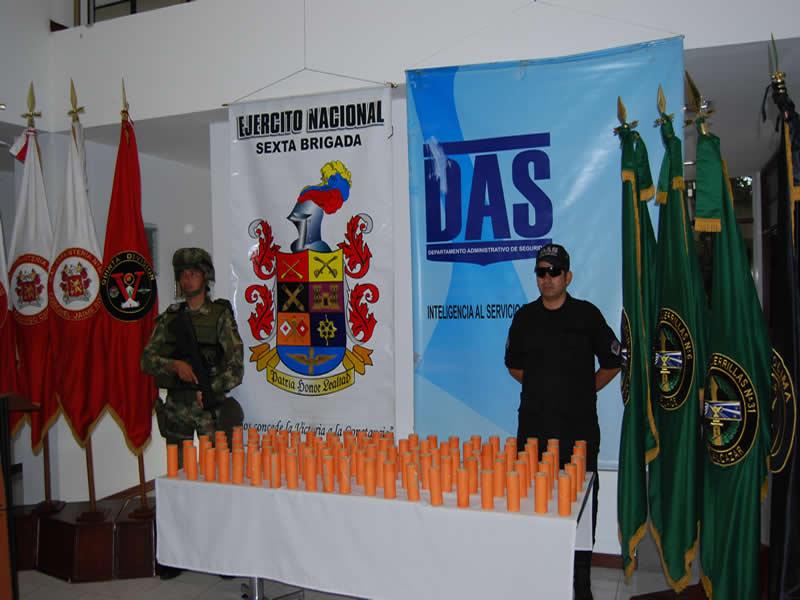 Ejército se incauta de 100 kilos de Pentonita  de las Farc