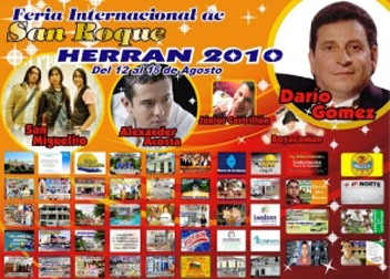 Herrán Celebra I Feria Internacional De San Roque