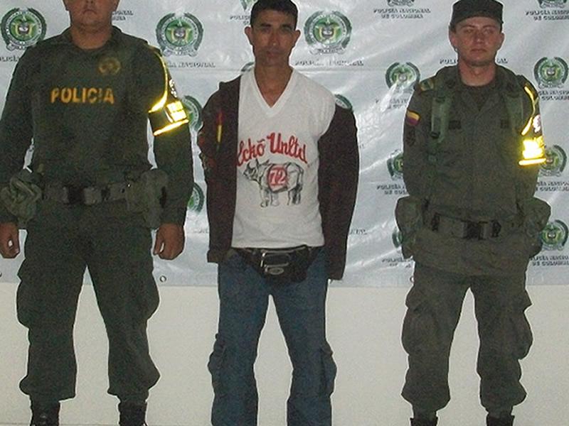 Policía Nacional Captura Un Hombre Solicitado Por El Delito De Posesión De Sustancias Para El Procesamiento De Narcóticos