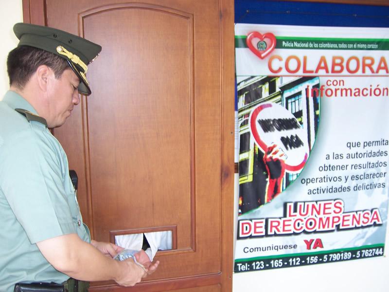 La Policía Nacional Les Cumple A Los Cooperantes De La Seguridad Ciudadana