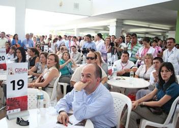 Gobernación Participa En La Rueda De Negocios De Cúcuta.