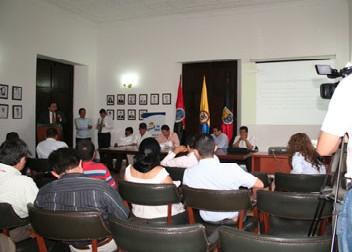 Concesionaria San Simón Presentó Informe