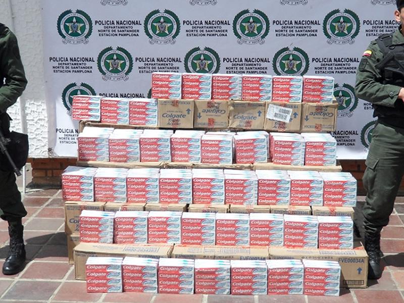 Más De 49 Millones De Pesos En Cremas Dentales Eran Transportados Sin Documentos De Legalidad