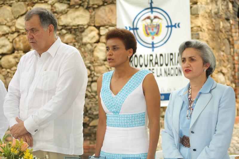 Alcaldesa  De Cúcuta Otorgó La Condecoración Juana Rangel De Cuellar A La Procuraduría General De La Nación