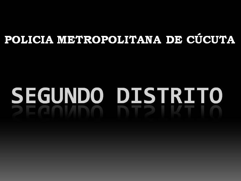 Casos Operativos Relevantes - 290910 Segundo Distrito Mecuc