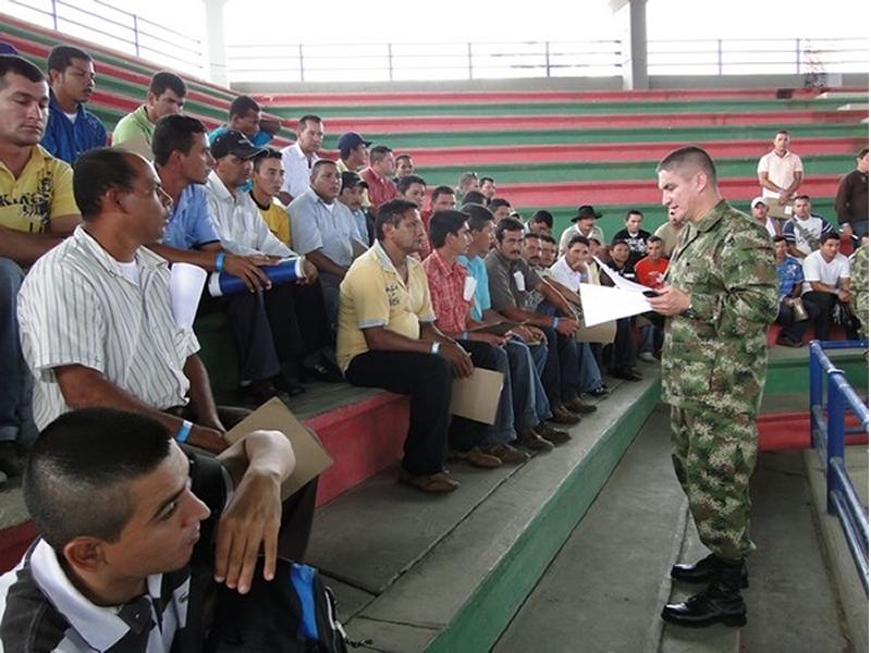 Jornada Regional De Expedición De Libretas Militares En Cúcuta