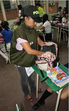 La Policía Nacional, Adelanta Una Campaña De Prevención En Los Colegios De Cúcuta