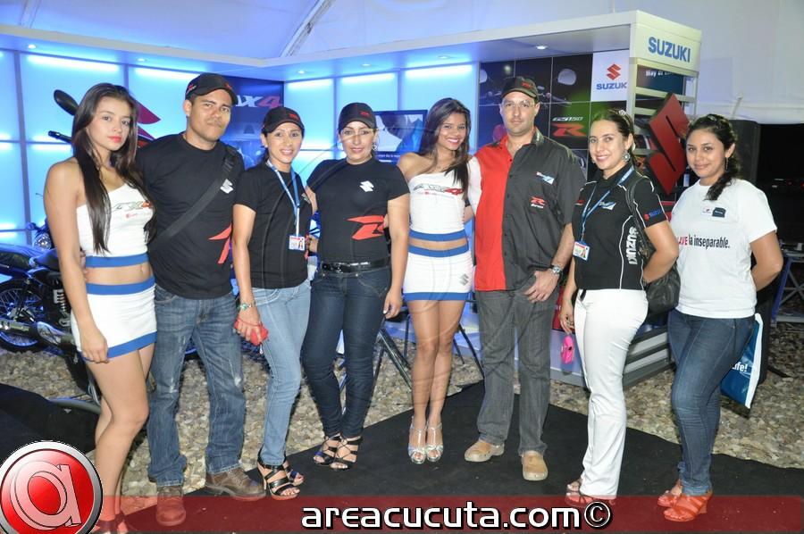 Suzuki lanzo en Cúcuta la Nueva AX4 y GS150R