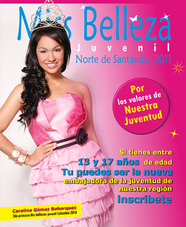 Imposición De Bandas Miss Belleza Juvenil Norte De Santander 2011
