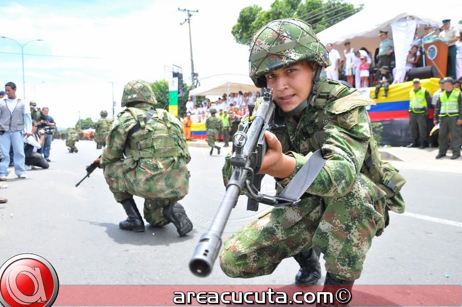 Desfile Militar 20 de julio, 201 Años de Independencia