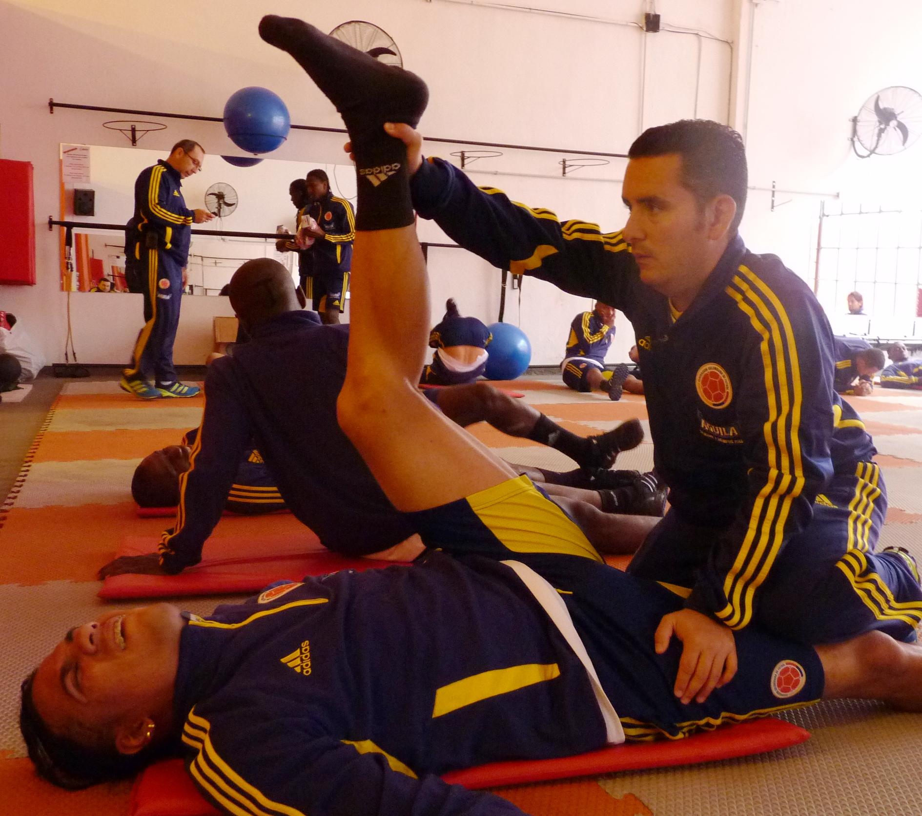 Fuerte día de trabajo durante el martes para la Selección Colombia de Fútbol