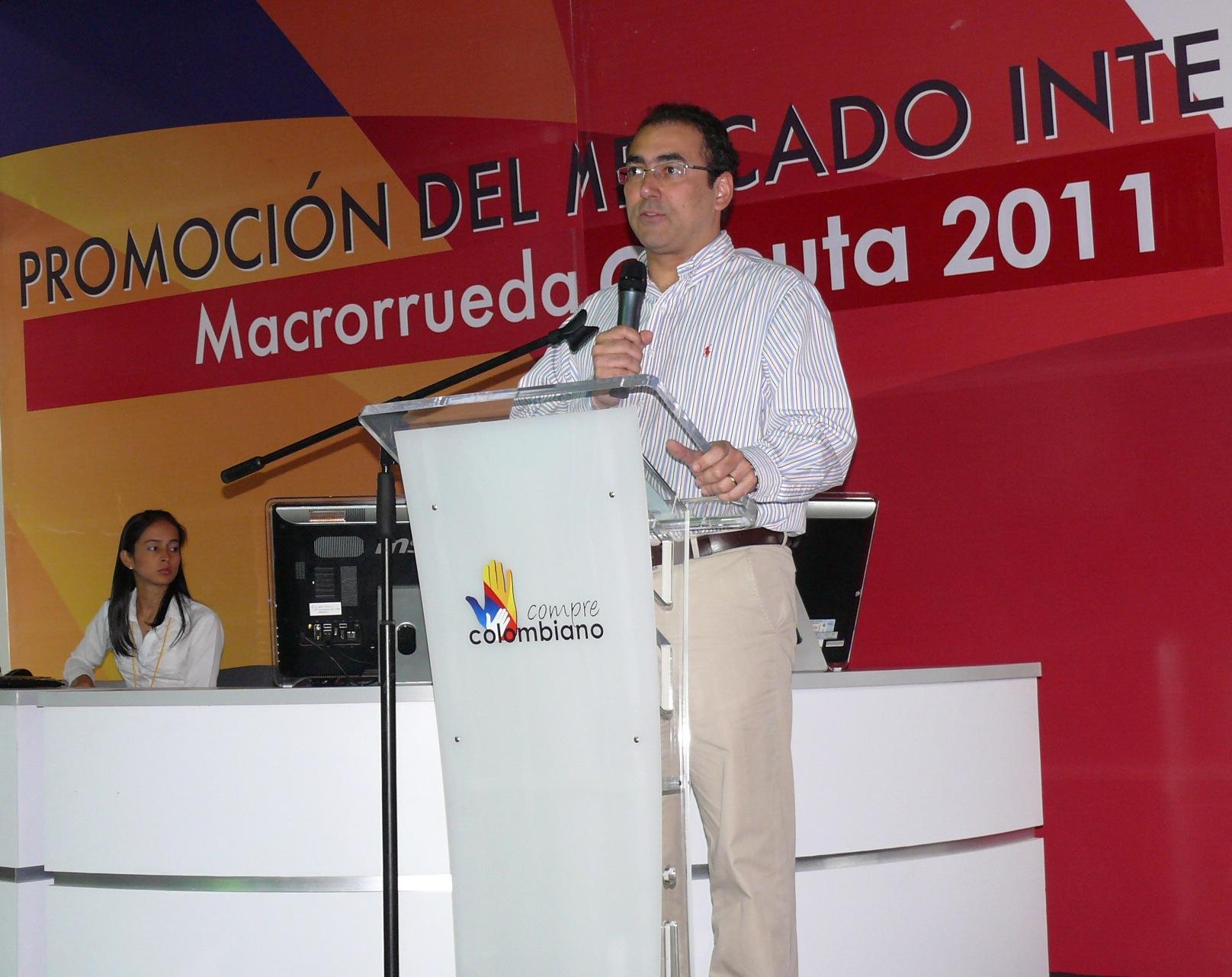 Parte De Éxito En Macrorrueda De Negocios De Cúcuta Da El Ministro Díaz-Granados