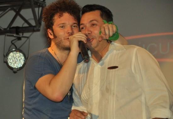 Cabas y Guillermo Perez (Gerente General de Cucuta Motors)