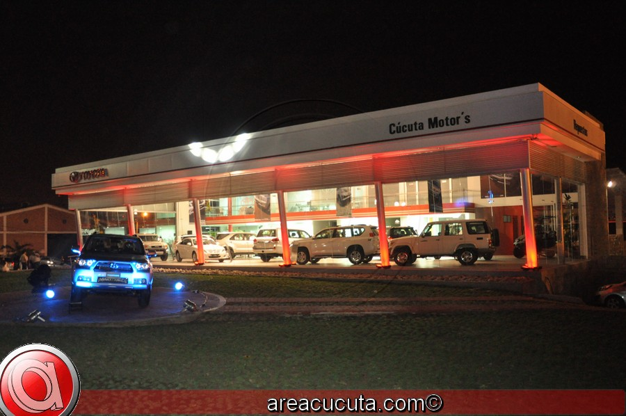 Cúcuta Motor inaugura su nuevo concesionario Toyota.