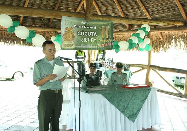 La Emisora De La Policía Metropolitana De Cúcuta, 88.7 FM Stereo, Cumple 11 Años Al Aire