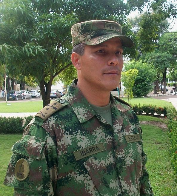 Coronel Rodolfo Ibarra Peñaloza, Nuevo Comandante De La Trigésima Brigada