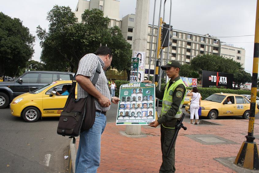 En Cúcuta, Fue Lanzada La Lista De Los '20 Más Buscados' Del Año 2012 En La Frontera