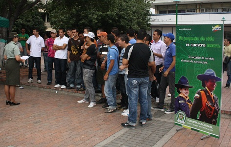 La Policía Nacional, Abre Convocatorias Para Ingresar A La Institución En El Primer Semestre Del 2012