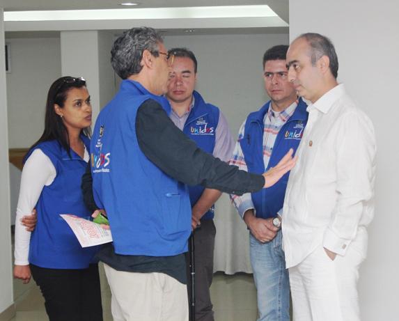 Red Unidos Apoya Programa De Vivienda De La Alcaldía