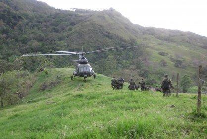 Un Soldado Muerto Y Otros Seis Más  Heridos Dejan Enfrentamientos Entre  Guerrilleros Y El Ejercito.