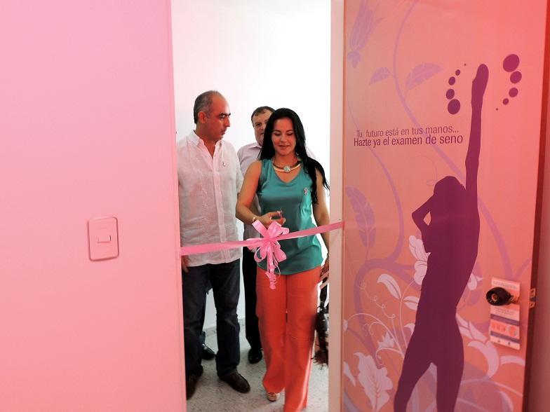 Gestora Social Inauguró Consultorio Rosado En La Libertad