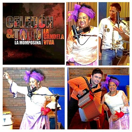 Celedon  y  Totó  La Momposina  número  uno  en  listas  musicales en Colombia