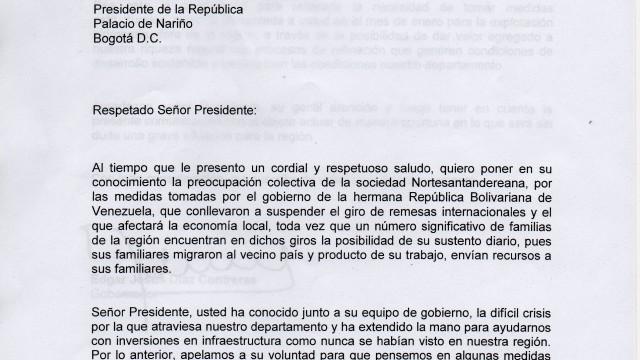 presidente cartas online