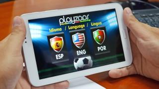 La aplicación está disponible en Español, Inglés y Portugués