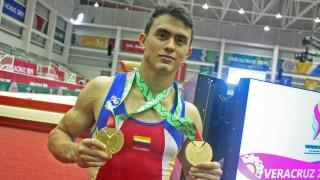 Jossimar Calvo cerró con dos oros su  participación en Veracruz 2014