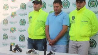 CAPTURADO CON TRES ARMAS DE FUEGO ILEGALES